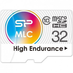 SILICON POWER Carte mémoire microSD High endurance 32Go