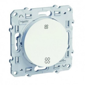 SCHNEIDER ELECTRIC Interrupteur VMC Odace Blanc
