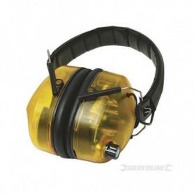 SILVERLINE Casque anti-bruit électronique SNR 30 dB