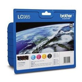 Brother LC985 Cartouches d'encre Multipack
