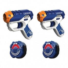 LAZER M.A.D. - 2 Mini Blasters + 2 cibles - le set de 2 joueurs