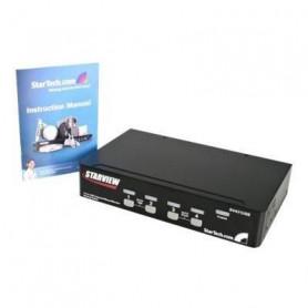StarTech.com Commutateur KVM 4 ports VGA USB a montage en rack