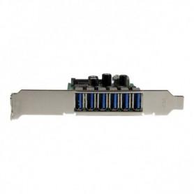 StarTech.com Carte contrôleur PCI Express a 7 ports USB 3.0