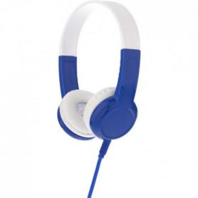 BUDDYPHONE Casque filaire Explore - Bleu et blanc