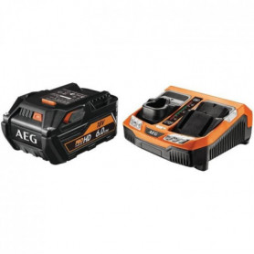 AEG POWERTOOLS Chargeur rapide + 1 batterie 18 Volts Li-Ion