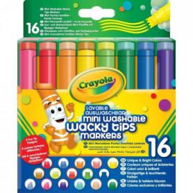 Crayola - 58-8709 - 16 feutres lavables a point...