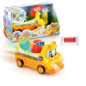 DOUGH'N GO Bus scolaire et personnage en pâte a modeler