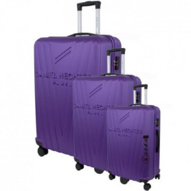 DANIEL HECHTER Set de 3 Valises Trolley Rigide ABS