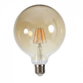 Ampoule LED filament vintage ambrée E27 6W équ. 60W