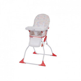 SAFETY 1ST Chaise Haute Keeny - Red lines