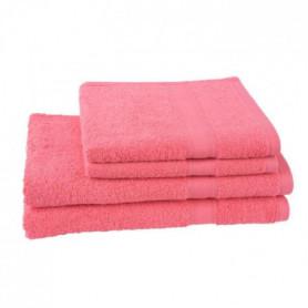 JULES CLARYSSE Lot de 2 serviettes 50x100 cm + 2 draps de bain