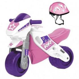 FEBER - Motofeber 2 Racing Rose avec casque - porteur