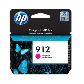 HP Cartouche jet d'encre 912 - Magenta - Jet d'encre