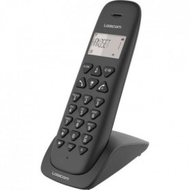 LOGICOM Téléphone sans fil VEGA 155T SOLO Noir