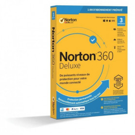 NORTON 360 Deluxe 25 Go FR 1 Utilisateur 3 Appareils