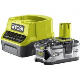 RYOBI Pack chargeur & 1 batterie 18V 4,0 Ah lithium+