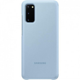 Clear View cover S20 Bleu