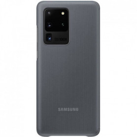 Clear View cover S20 Ultra Gris