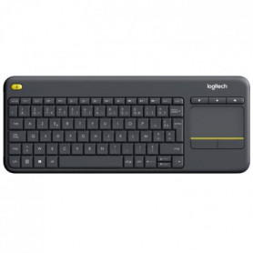 LOGITECH Clavier TV Multimédia K400 Plus - AZERTY