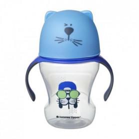 TOMMEE TIPPEE Tasse de transition 230 ml déco bleu