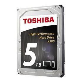Toshiba Disque Dur interne X300 3,5'' Boite Retail - 5 To