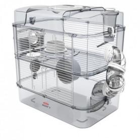 ZOLUX Cage sur 2 étages pour hamsters, souris et gerbilles