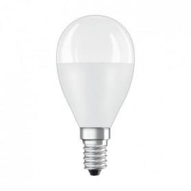 OSRAM Ampoule LED sphérique E14 - 8 W - Dépoli - Blanc chaud