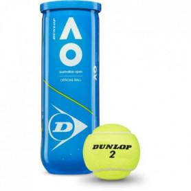 DUNLOP - Balles de Tennis Australian Open - Tube de 3 balles