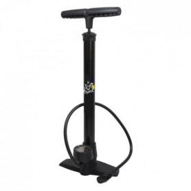 Pompe a pied en acier avec manometre Tour de France