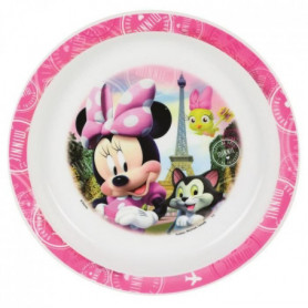 Fun House Disney Minnie assiette micro-ondable pour enfant
