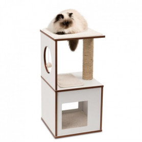 Arbre A Chat Vesper V-box Small Blanc