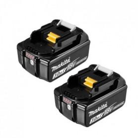 MAKITA Pack de 2 batteries 18V 3Ah Li-ion avec témoin de charge