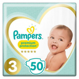 PAMPERS Premium Protection Taille 3 Midi