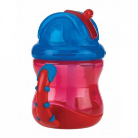NUBY Gobelet anti-goutte Flip-It Clik it avec anses - 240 ml