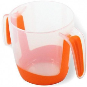 MILL'O BÉBÉ Tasse d'apprentissage a anses  - Orange - 22 cl