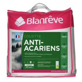 BLANREVE Couette chaude 400gm2 Anti-Acariens 140x200 cm
