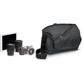 MANFROTTO - MB NX-M-GY - NX Messenger pour hybride - Gris