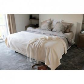 Couverture Polaire 350g/m² - 240x260cm - Ecru