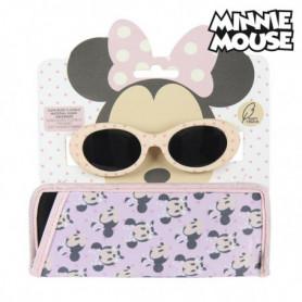 Lunettes de soleil enfant Minnie Mouse Rose