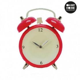 Horloge Murale en Verre Réveil