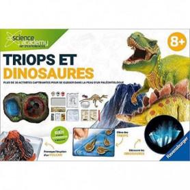 SCIENCE X RAVENSBURGER Triops & Dinosaures Jeu Educatif