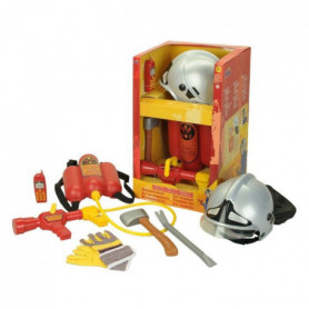 FIRE FIGHTER HENRY - Grand Set de Pompier avec casque