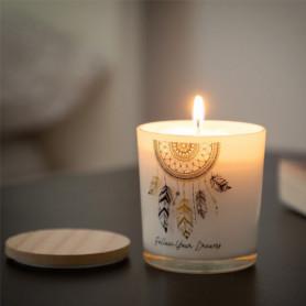 Bougie Aromatique Attrape-Rêves Mandala