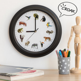 Horloge Murale Animals Sound