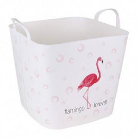 Panier à linge Flamingo Forever 25 L (38 X 33 x 35 cm)