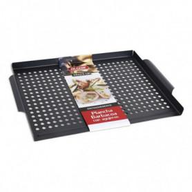 Plaque à griller avec trous pour barbecue Algon (36 x 29 cm)