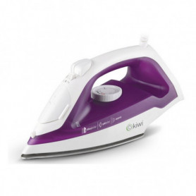 Fer à vapeur Kiwi KSI-6305 220 ml 1600W Acier inoxydable Blanc Violet