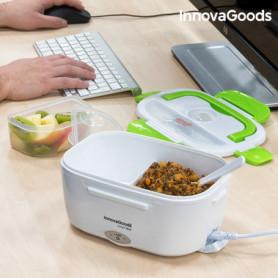 Boîte Déjeuner Électrique InnovaGoods 40W Blanche Verte