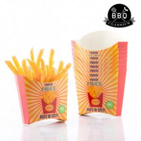 Ensemble de boîtes pour Frites BBQ Classics (Pack de 8)