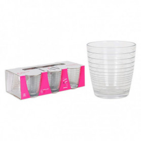 Set de Verres LAV Apollon 270 ml Verre (Pack de 6)